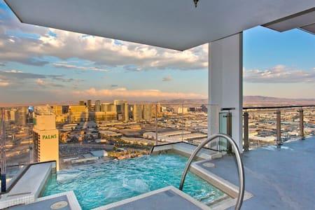 Palms Place Penthouse 57 floor pool