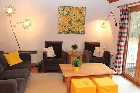 Village de vacances La Boverie - Chalet n°216 - Rendeux - Hytte (i sveitsisk stil)