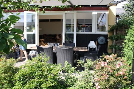 Townhouse in wonderful green area close to CHP - Stadswoning
