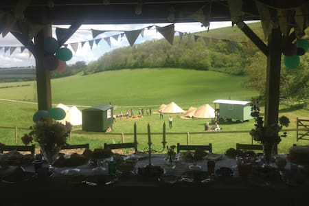 Boutique Camping at Elcombe Copse - Overig