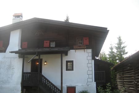 Old charming chalet with sauna next to ski slope - Apartment