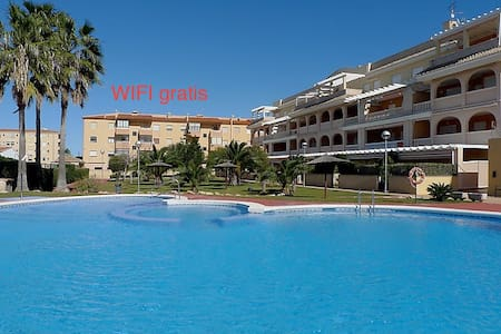 Exclusive penthouse, 200 m. from a sandy beach. - Denia - Lejlighed