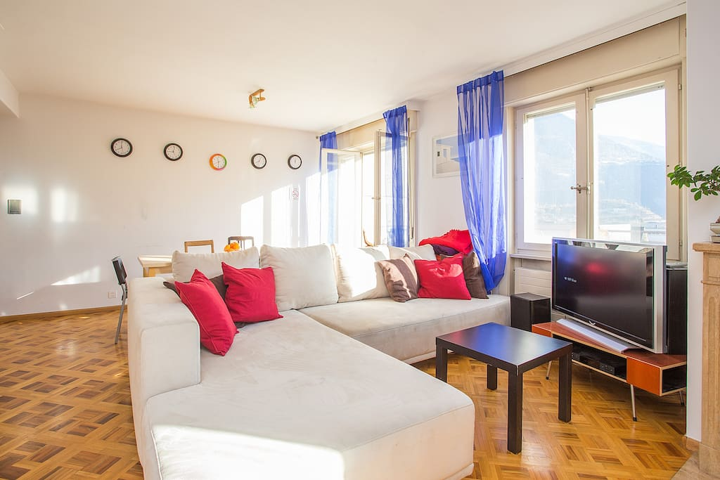 Big cozy apartment Sierre central