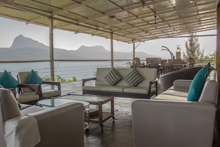 Kino Lakeside Chalet 2 BHK + Deck - Pawna Lake
