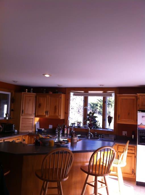 Hillside Home for Holiday Hosting