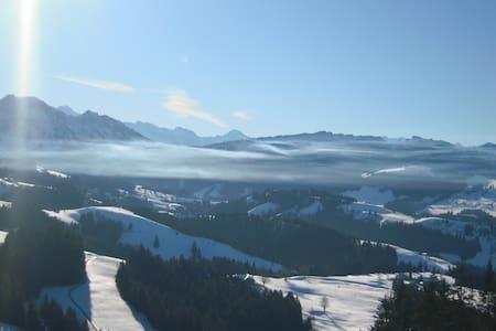 Emmental -Alpensicht, zw. Bern-Thun - Eggiwil - Apartment