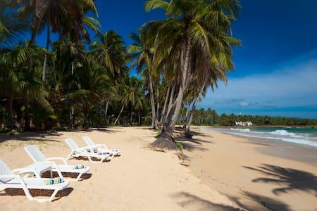 Beach front studio Baoba Beach - Cabrera - Huoneisto