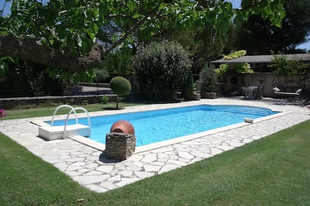 Villa + Piscine à Saumane-calme et repos assuré. - Saumane-de-Vaucluse - Villa
