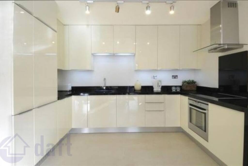 The modern kitchen is as good s it looks