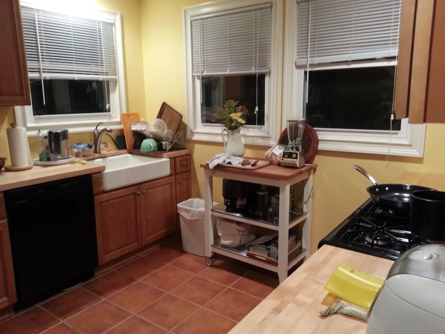 Gourmet kitchen, ready for you and your chef skills!