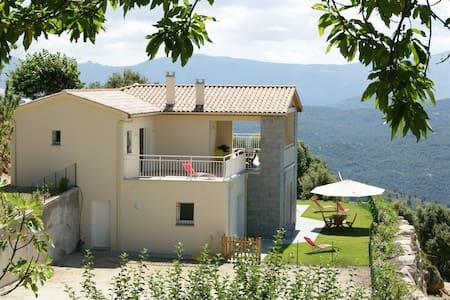 Appartement *** avec terrasse - Serra-di-Scopamène - Huvila