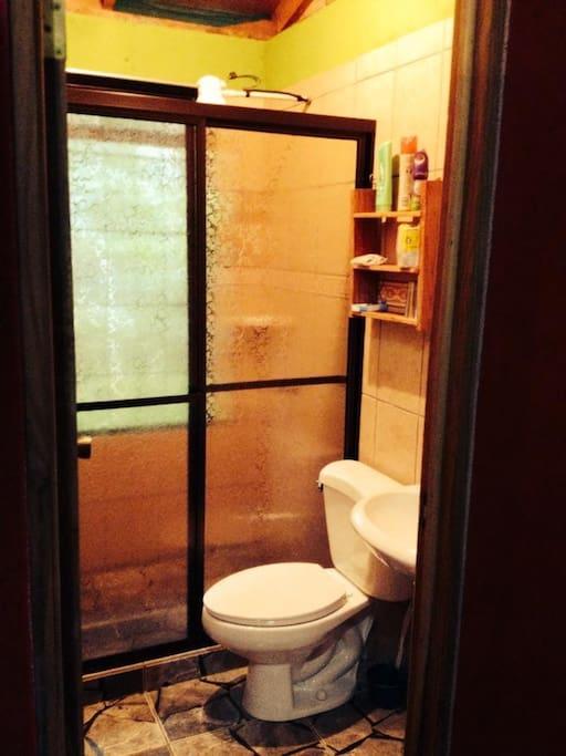 Sala de baño y wc
