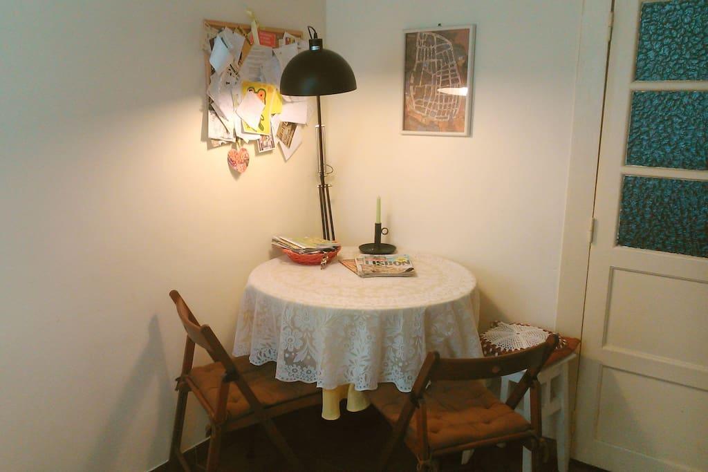 breakfast corner :-)