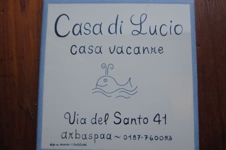 Casa Lucio,centre of the village