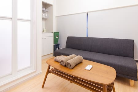 201. Enjoy Local Tokyo! Free Pocket WiFi available - Apartment