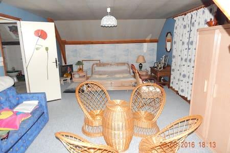 loue chambre très spatieuse, balcon - Huis