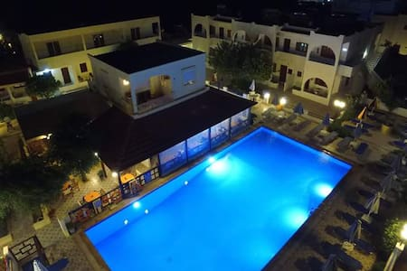 Large apartment for family in Pefkos-Lindos - Rodos