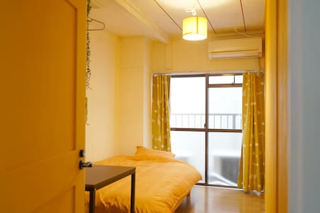 【3min from Sta.】Sunshine Room / DIYed / Eng OK! - Apartment