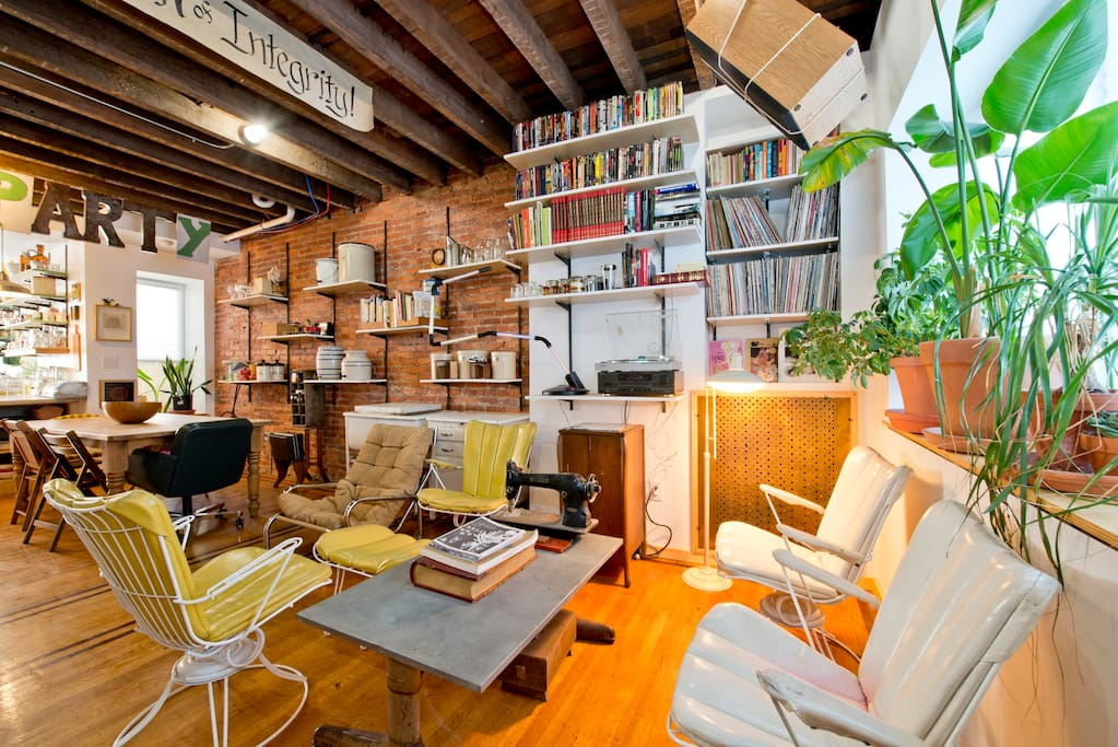 Cozy hang out space