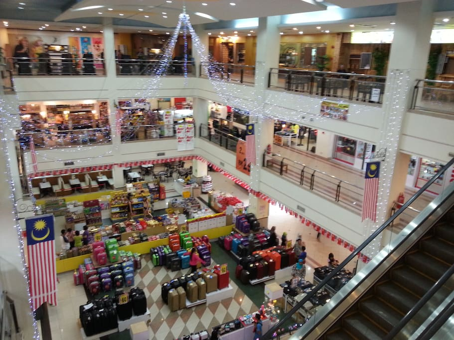 Within walking distance of Langkawi Parade MegaMall, the biggest and most well stocked on the island