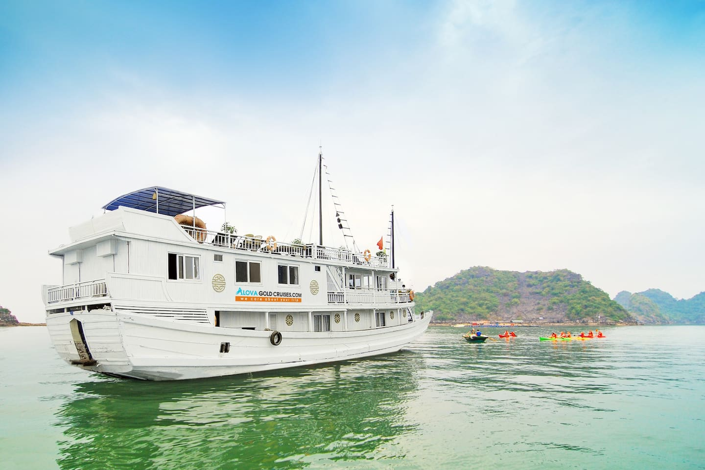 The most popular cruise in Ha Long