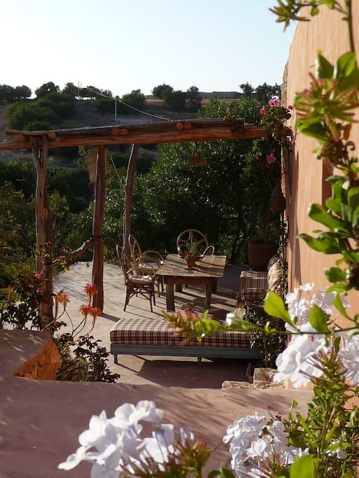 Terrasse idéale pour le relax