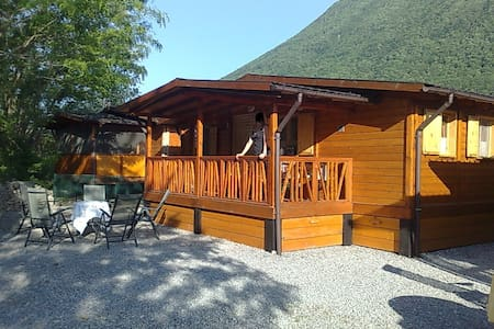 Chalet Sportcamping International - Porlezza - Cabane