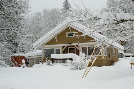 Gma's house in the Heart of Glacier - Glacier