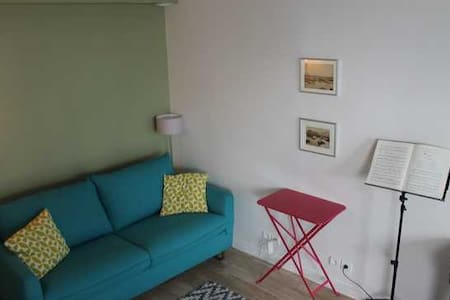 Atelier mini-loft sobre et cosy ligne 9 - Apartamento