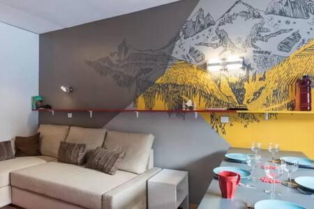 Courchevel : Superbe Vue et sur les Pistes de ski - Saint-Bon-Tarentaise