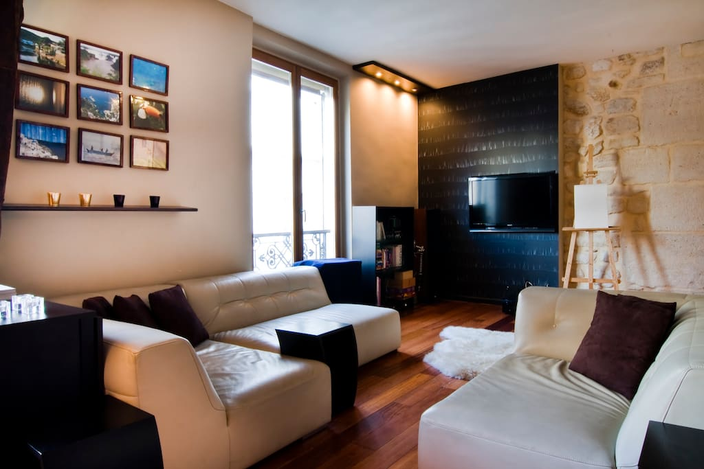 Design 2bedroom 2bth WIFI in Marais