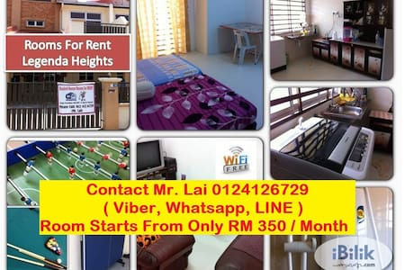 Rooms For Rent at Legenda Heights, Sungai Petani - House