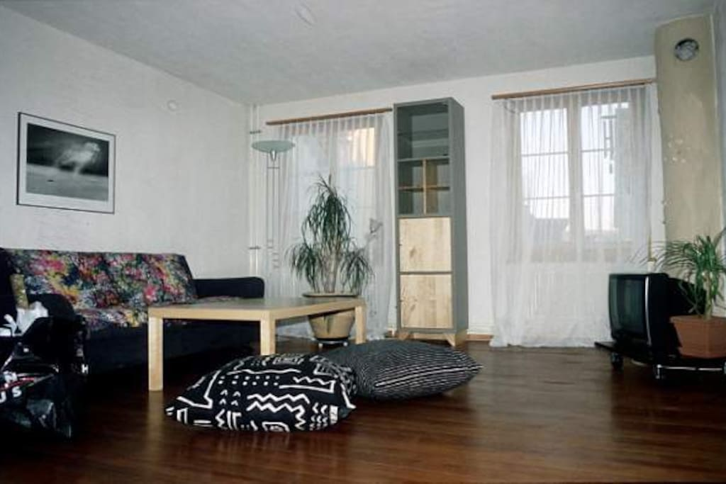 living room (only with whole apartment -> see seperate add)