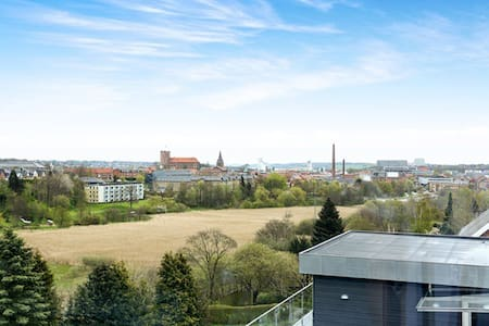 View, balcony and close to LEGOLAND - Daire