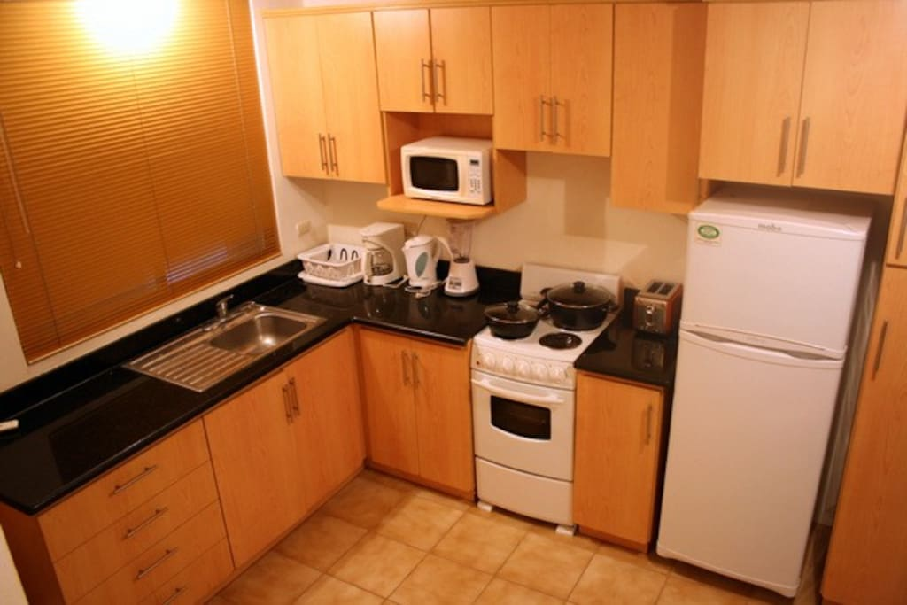 Fully equipped kitchen - and for those who love to cook and for those who prefer a pizza and coffee