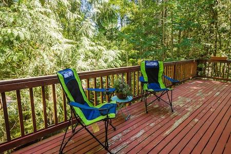 Relaxing little corner in the woods - Casa