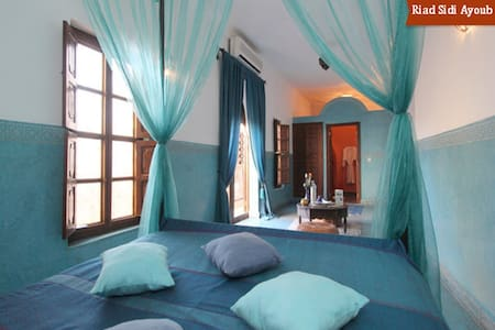 Romantic Double Bedroom in Medina WIFI & Breakfast - Marrakesh - Bed & Breakfast