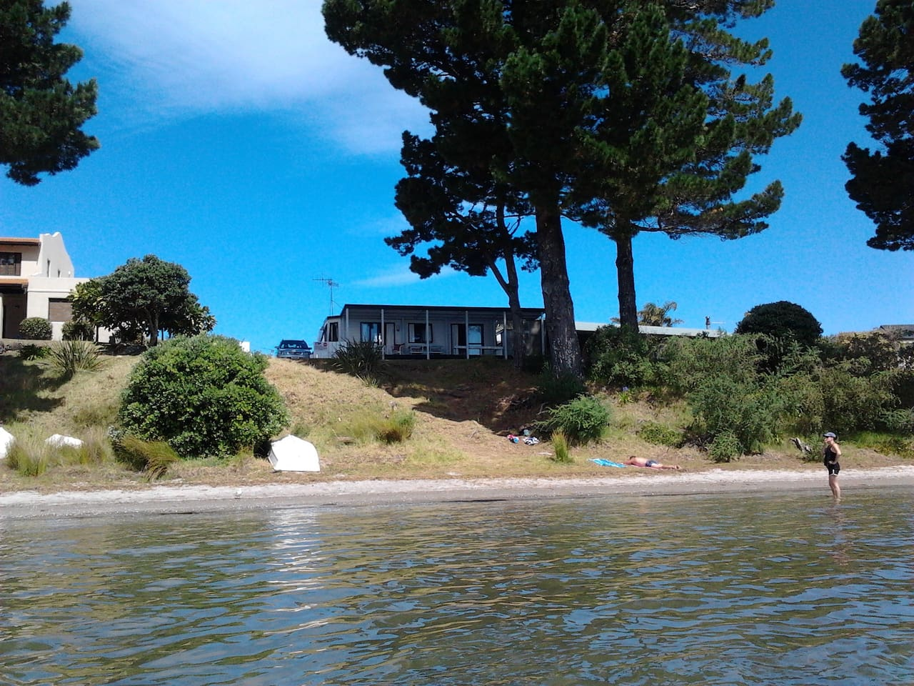 As close as you can get to the estuary at Pauanui