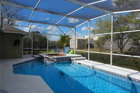 Pool Home 10 Mins From Disney