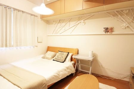 ★10 mins to Namba ! FREE pocket wifi & kids FREE ☆ - 大阪市天王寺区 - Apartament