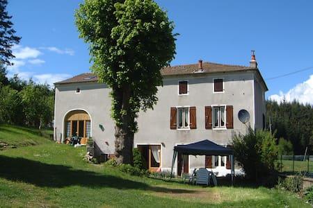 B&B / cdh Maison Neuve Auvergne - Grandval - Bed & Breakfast