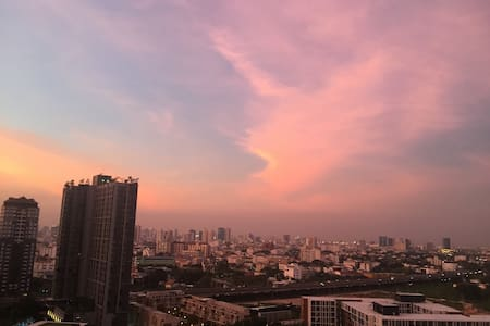 Central Bangkok close to On nut BTS - Bangkok - Condominium
