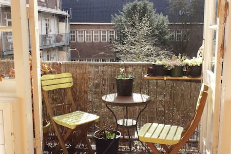Lovely, bright and cozy apartment at great spot! - Amsterdam - Appartement