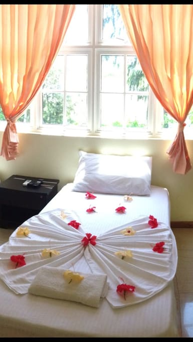 Budget Travellers room: Fully furnished with Air-condition, Fan, Telephone, Attached bathroom, Hot & Cold Water, TV, Free Wifi etc