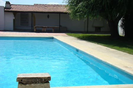House with pool/6 bedrooms - House