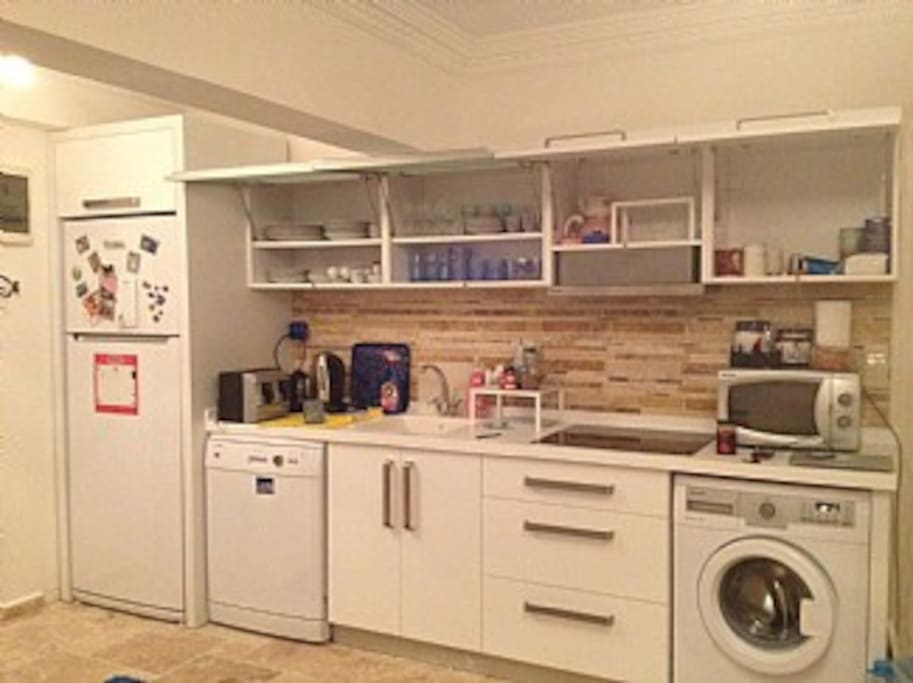 Kitchen -fully equipped