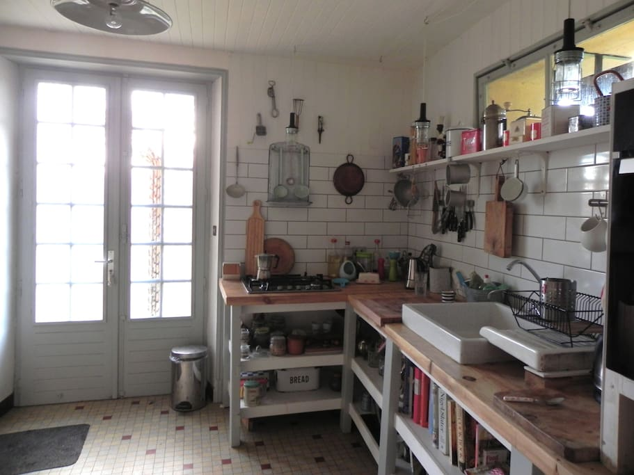 Our quirky french kitchen