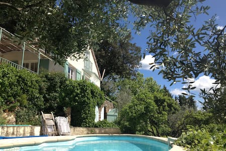 Charming villa - private pool - Claviers - Casa