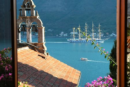 Lovely Perast apartment - bay view - Appartement