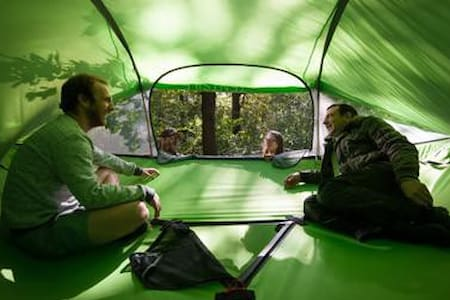 Suspended Tree House Tent, Tent Hammock, Tree Tent - Cabane dans les arbres